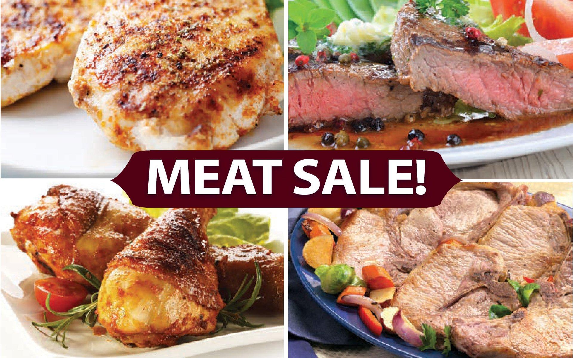 Meat Sale!